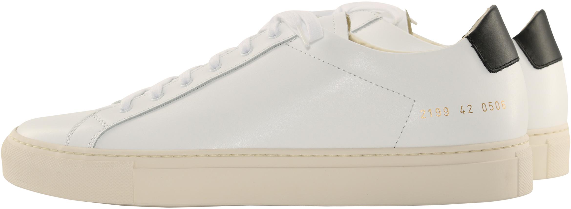 Common Projects Sneaker Retro White