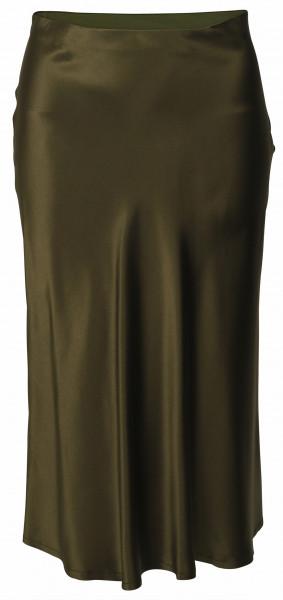 Women's Nili Lotan Silkskirt Lane Armygreen