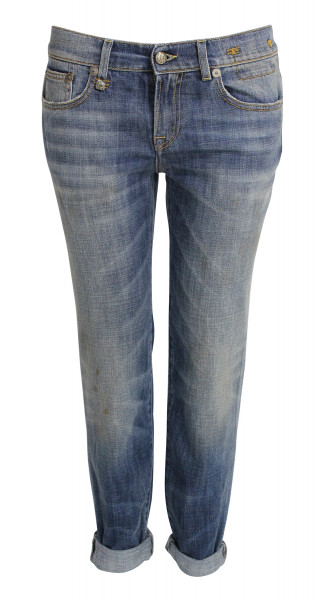 R 13 Relaxed Skinny Jeans R13WM0043-69 Dirty Vintage