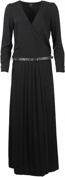 Nikkie Maxi Dress Belted schwarz