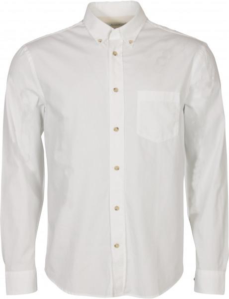 Men's Acne Studios Soft Poplin Shirt Sarkis White