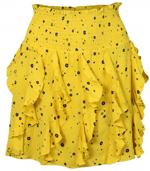 Women's Nikkie Skirt Stacey Yellow Printed