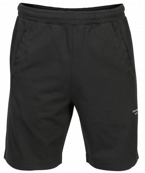 Men's Acne Studios Short Sweat Trouser Fort Black