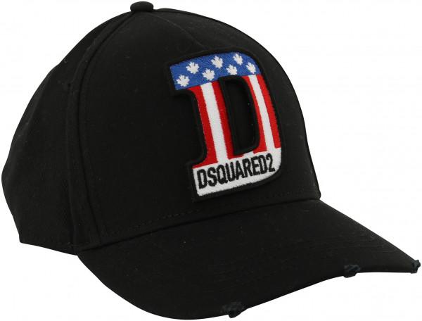 Dsquared Baseball Cap Black