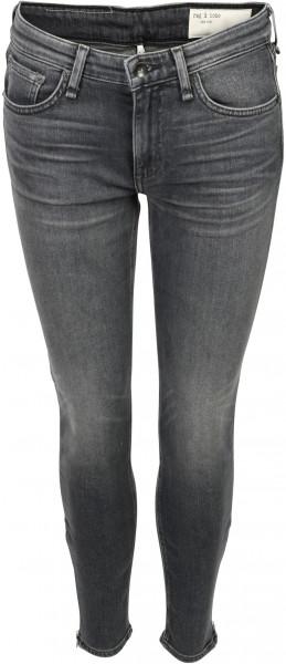 Women's Rag & Bone Jeans Cate Grey Midrise Ankle Skinny