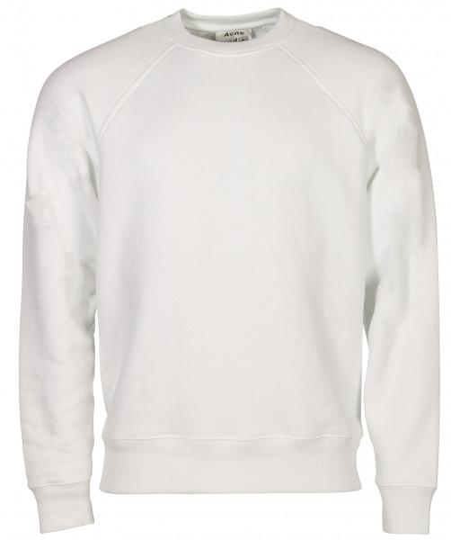 Men's Acne Studios Sweatshirt Finick Reverse Label White