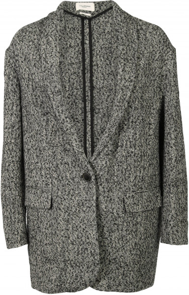 Women's Isabel Marant Jacket Backal Black/White