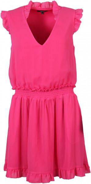 Nikkie Kleid Riva Rüschen pink