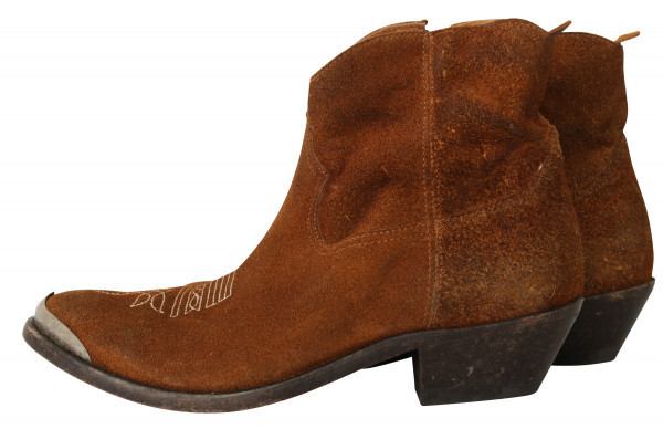 Golden Goose Women's Boots Young Wildeder cognac G31WS274.B2