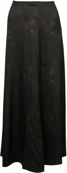 Women's Anine Bing Silk Skirt Caroline Black Tie Dye
