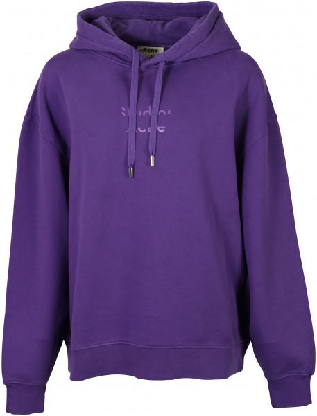 Women's Acne Studios Hoodie Fyola Purple