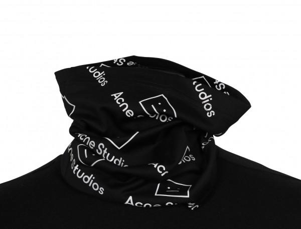 Unisex Acne Studios Snood Jersey Face Black Reflective