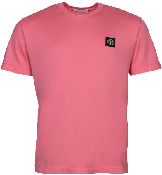 Men's Stone Island T-Shirt Pink