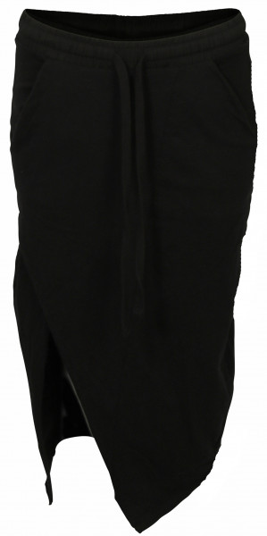 Women's Thom Krom Midi Sweat Skirt Black
