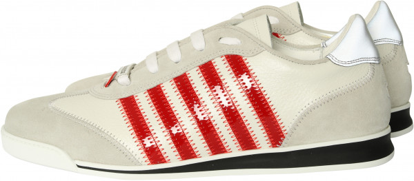 Men's Dsquared Sneaker New Runner White/Red