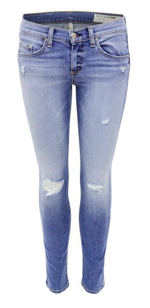 Rag & Bone Skinny Capri Jeans Gunnar W1526K520GUN