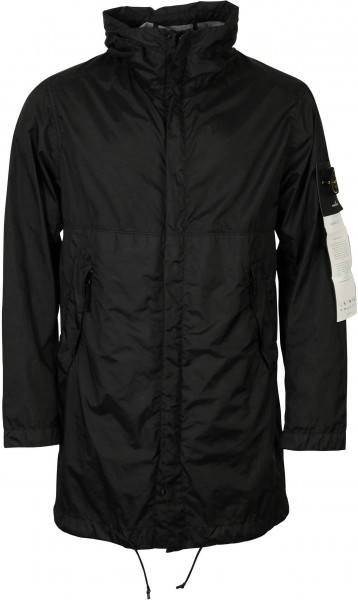 Men's Stone Island Parka Black