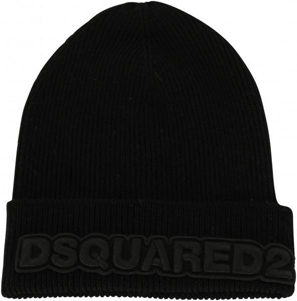 Dsquared Knit Hat Black
