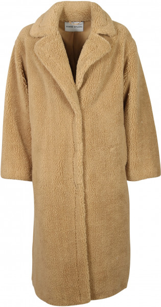 Women's Stand Studio Fake Fur Coat Maria Camel