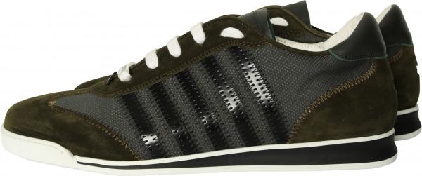 Men's Dsquared Sneaker New Runner Military