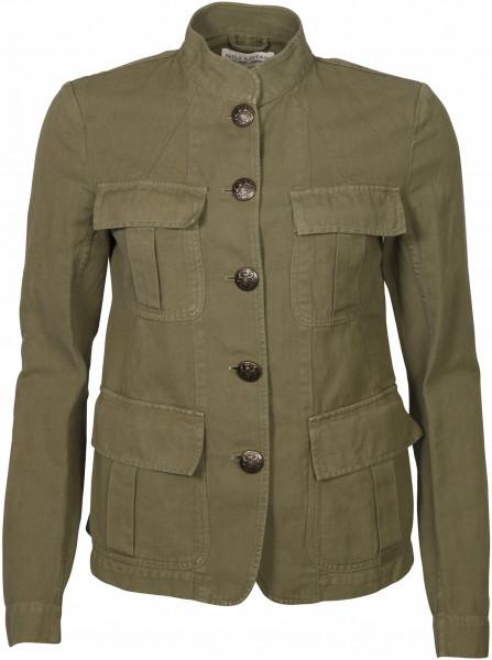 Women's Nili Lotan Army Jacket Cambre Olive