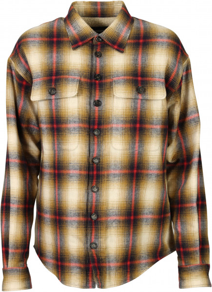 Women's Dsquared Padded Check Shirt