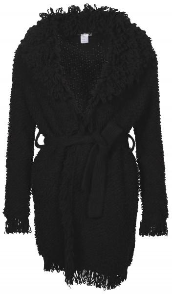 Women's Avant Toi Cardigan Black