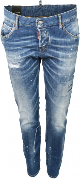 Women's Dsquared Jeans Cool Girl Washed Blue