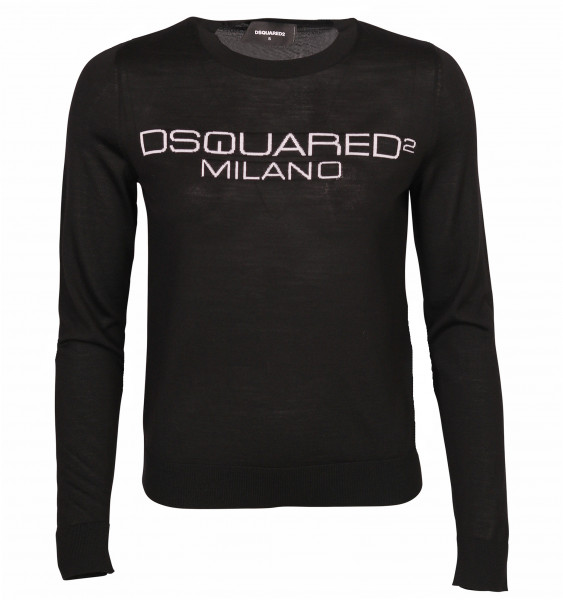 Women's Dsquared Knit Pullover Black
