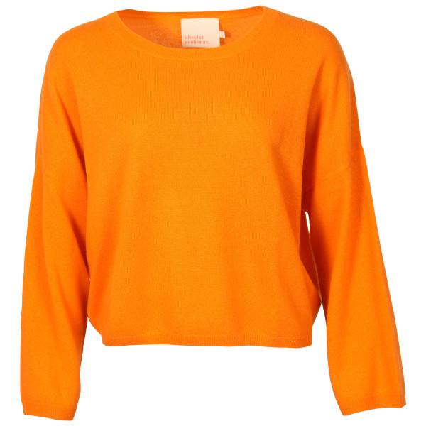 Women's Absolut Cashmere Pullover Alicia Orange