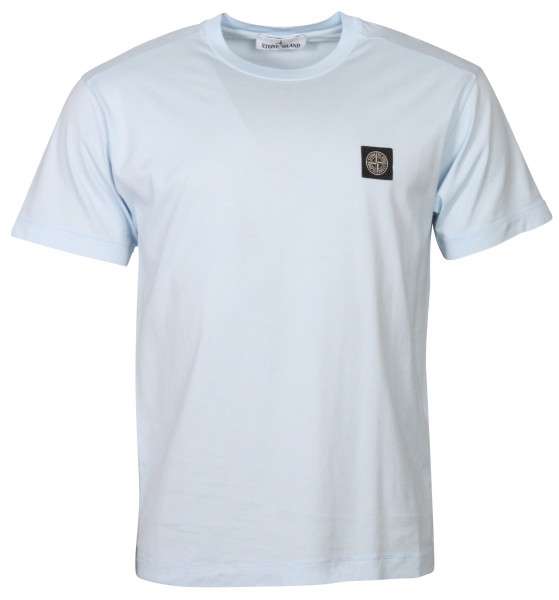 Men's Stone Island T-Shirt Light Blue