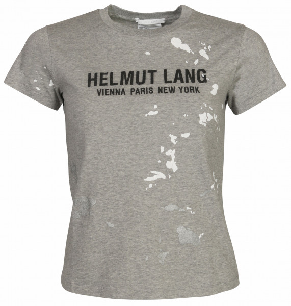 Women's Helmut Lang T-Shirt Painter Grey Printed