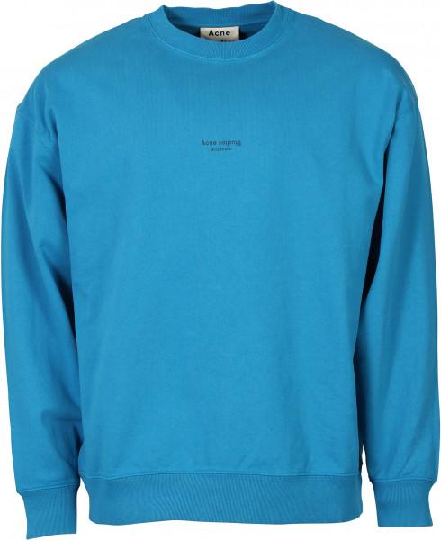 Men's Acne Studios Sweatshirt Femke Electric Blue