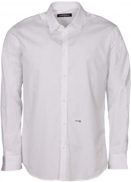 Men's Dsquared Classic Tailored Shirt White