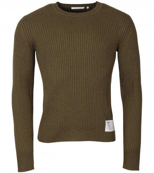 Men's Helmut Lang Knit Sweater Olive