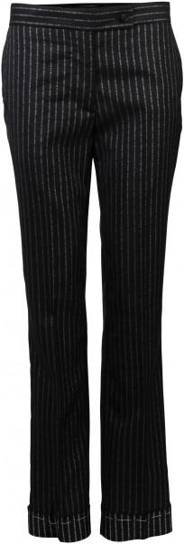 Women's Golden Goose Pants Streifen schwarz