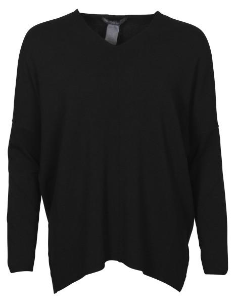 Women's Transit Par Such V-Neck Pullover Black