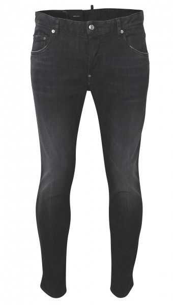 Men's Dsquared Jeans Skater Black Washed