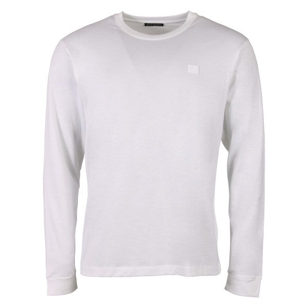 Men's Acne Studios Longsleeve Elwood Face White
