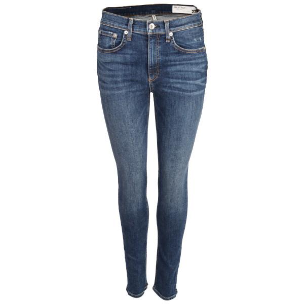 Women's Rag & Bone Jeans Highrise Jeans blau