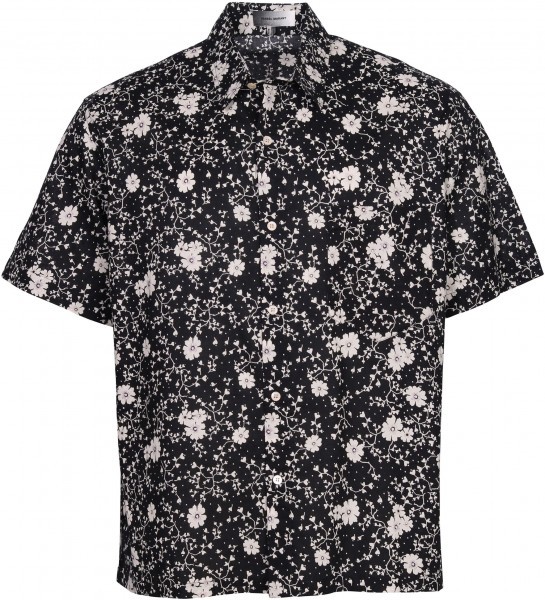 Men's Isabel Marant Shirt Iggy Black/White Printed