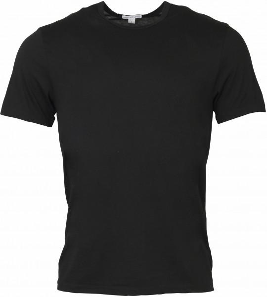 Men's James Perse Cotton Cashmere T-Shirt Black