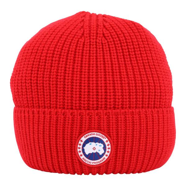 Canada Goose Arctic Disc Rib Cap Red