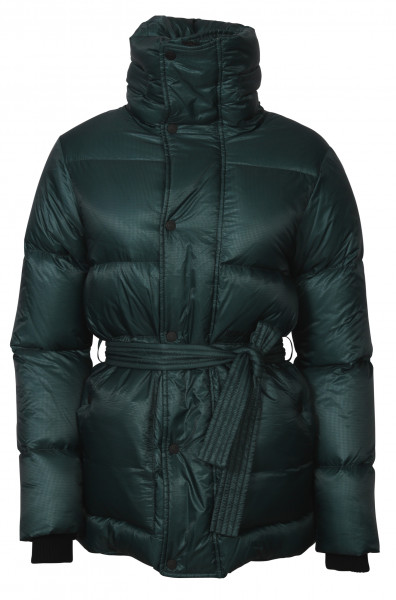 Women's Dsquared Down Jacket Petrol