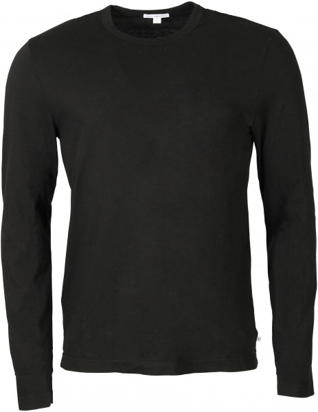 Men's James Perse Longsleeve Crewneck Black