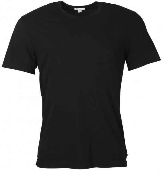 Men's James Perse T-Shirt Crewneck Black
