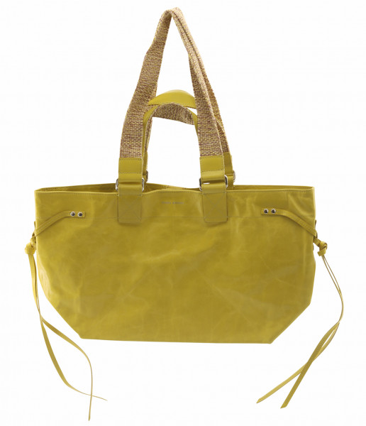 Women's Isabel Marant Bag Bagya New Porte Epaule Yellow