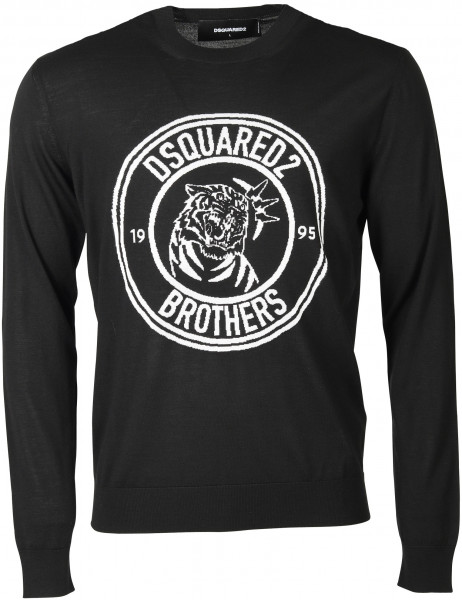 Men's Dsquared Pullover Black