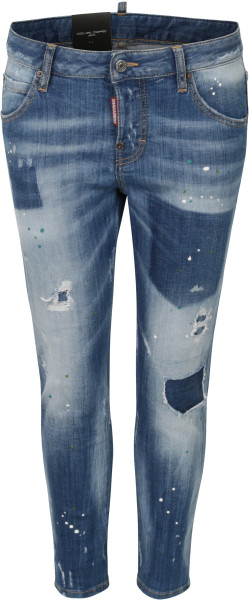 Women´s Dsquared Cool Girl Cropped Jeans