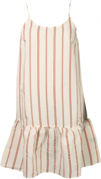 Women's Tif Tiffy Strapdress Belle White Striped